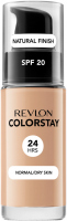 REVLON - COLORSTAY™ FOUNDATION - Podkład do cery normalnej/suchej - 30 ml - 220 - NATURAL BEIGE - 220 - NATURAL BEIGE