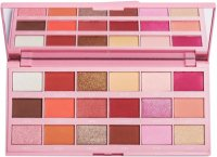 I Heart Revolution - SHADOW PALETTE - STRAWBERRY CHEESECAKE - Paleta 18 cieni do powiek - (TRUSKAWKOWA CZEKOLADA)