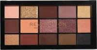 MAKEUP REVOLUTION - RELOADED SHADOW PALETTE - Paleta 15 cieni do powiek - VELVET ROSE