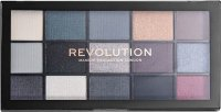 MAKEUP REVOLUTION - RELOADED SHADOW PALETTE - Paleta 15 cieni do powiek - BLACKOUT