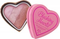 I Heart Revolution - Blushing Hearts Triple Baked Blusher - Róż do policzków - CANDY QUEEN OF HEARTS - CANDY QUEEN OF HEARTS