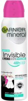 GARNIER - Mineral - Invisible Black White Colors - Fresh Aloe - Antyperspirant w spray`u - 150 ml