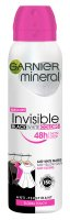 GARNIER - Mineral - Invisible Black White Colors - Floral Touch - Antyperspirant w spray`u - 150 ml
