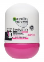 GARNIER - Mineral - Invisible Black White Colors - Floral Touch - Antyperspirant w kulce 48H - 50 ml