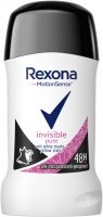 Rexona - Invisible Pure Anti-Perspirant - Antyperspirant w sztyfcie - 40 ml