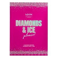 NYX Professional Makeup - DIAMONDS & ICE PLEASE! - 24 DAY HOLIDAY COUNTDOWN - Kalendarz adwentowy do makijażu twarzy