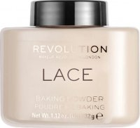 MAKEUP REVOLUTION - LACE - LOOSE BAKING POWDER - Sypki puder do twarzy - 32 g