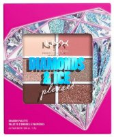 NYX Professional Makeup - DIAMONDS & ICE PLEASE! - SHADOW PALETTE - Paleta 6 cieni do powiek - 02W DIAMOND DELIRIOUS