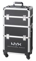 NYX Professional Makeup - 4 Tier Mkup Artist Train Case - Kufer kosmetyczny na rolkach