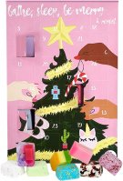 Bomb Cosmetics - Bathe, Sleep, Be Merry & Repeat Advent Calendar Gift Pack - Kalendarz adwentowy z kosmetykami do kąpieli