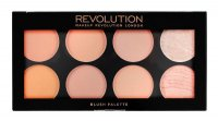 MAKEUP REVOLUTION - Ultra Blush Palette HOT SPICE - Paleta 8 róży