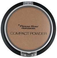 Pierre René - Compact Powder - Puder brązujący z jojobą i minerałami - No. 13