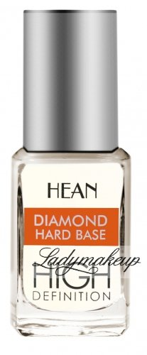 HEAN - Diamond hard base - High Definition - Bazowy utwardzacz diamentowy pod kolorowy lakier