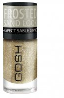 GOSH - Frosted Nail Lacquer - Lakier do paznokci-02 - FROSTED GOLD - 02 - FROSTED GOLD