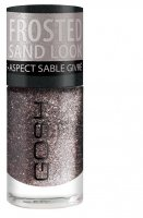 GOSH - Frosted Nail Lacquer - Lakier do paznokci-03 - FROSTED PURPLE - 03 - FROSTED PURPLE