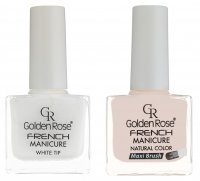 Golden Rose - FRENCH MANICURE SET - Zestaw do french manicure - O-GFN