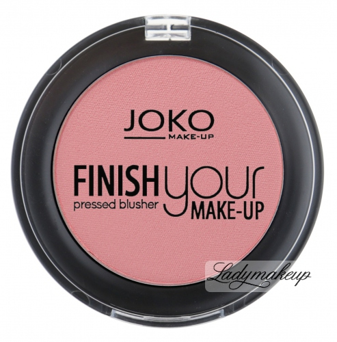 JOKO - Finish your make-up pressed BLUSHER - Róż prasowany