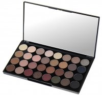 MAKEUP REVOLUTION - Flawless Ultra Eyeshadows - Paleta 32 cieni do powiek