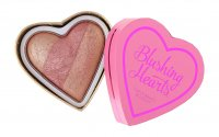 I ♡ Makeup - Blushing Hearts Triple Baked Blusher - Róż do policzków - PEACHY KEEN HEART - PEACHY KEEN HEART