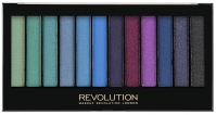 MAKEUP REVOLUTION - Redemption Palette MERMAIDS VS UNICORNS - Paleta 12 cieni do powiek