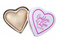 I ♡ Makeup - Goddess of Love Triple Baked HIGHLIGHTER - Rozświetlacz - GOLDEN GODDESS - GOLDEN GODDESS