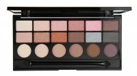 MAKEUP REVOLUTION - GIRL PANIC - Exclusive Eyeshadow Palette - Paleta 18 cieni do powiek
