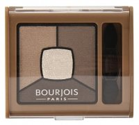 Bourjois - SMOKY STORIES - Quad eyeshadow palette - Poczwórne cienie do powiek