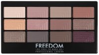 FREEDOM - PRO 12 SECRET ROSE - Paleta 12 cieni do powiek