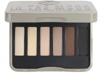 W7 - IN THE MOOD - NATURAL NUDES - EYE COLOUR PALETTE - Paleta 6 cieni do powiek