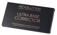 MAKEUP REVOLUTION - ULTRA BASE CORRECTOR - Paleta 8 korektorów
