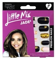ELEGANT TOUCH - LITTLE MIX - PRESS-ON NAILS - Paznokcie z samoprzylepną taśmą - 3D - JADE2 - 40 16 210