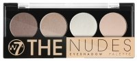 W7 - THE NUDES eyeshadow palette - Paleta 4 cieni do powiek