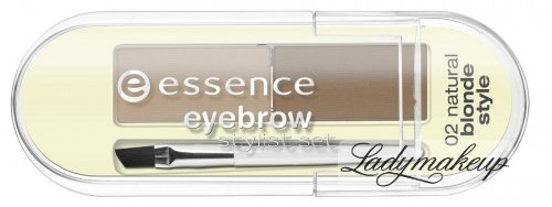Essence - EYEBROW STYLIST SET - ZESTAW DO BRWI - 02