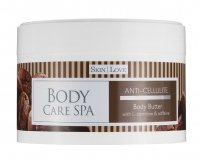 Skin Love - BODY CARE SPA - Body Butter - WITH L-CARNITINE & CAFFEINE - Antycellulitowe masło do ciała z kofeiną i L-karnityną