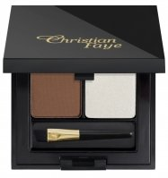 Christian - DUO HIGHLIGHTER SET - Półpermanentny puder do brwi + rozświetlacz