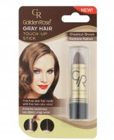 Golden Rose - GRAY HAIR - TOUCH-UP STICK - Sztyft na odrosty - R-GHT - 07 - CHESTNUT BROWN - 07 - CHESTNUT BROWN