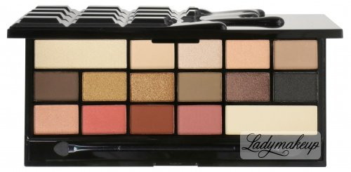 I Heart Revolution - CHOCOLATE VICE - 16 Eyeshadow - Paleta 16 cieni do powiek