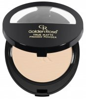 Golden Rose - TRUE MATTE PRESSED POWDER - Matowy puder do twarzy - P-GTP