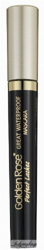 Golden Rose - Perfect Lashes - GREAT WATERPROOF MASCARA - Wodoodporny tusz do rzęs - M-GPL-WPF