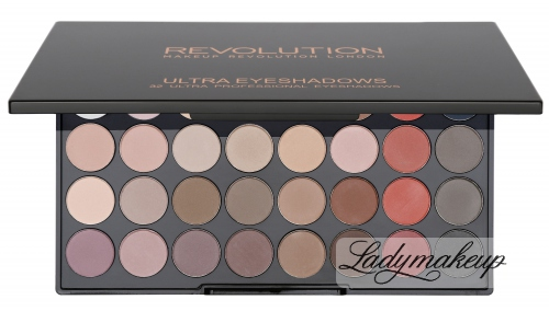 MAKEUP REVOLUTION - FLAWLESS MATTE 2 ULTRA EYESHADOWS - Paleta 32 cieni do powiek - 2