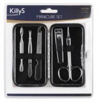 KillyS - Inter Vion - Manicure Set - Zestaw do manicure - BEŻOWY