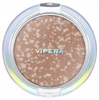 VIPERA - ART OF COLOR - COMPACT POWDER - Puder brązujący z drobinami - COLLAGE BRONZER - 401