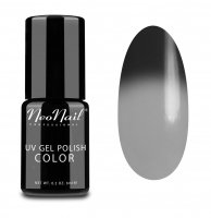 NeoNail - UV GEL POLISH COLOR - THERMO COLOR - Lakier hybrydowy - TERMICZNY - 6 ml - 5186-1 - BLACK RUSSIAN - 5186-1 - BLACK RUSSIAN