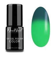 NeoNail - UV GEL POLISH COLOR - THERMO COLOR - Lakier hybrydowy - TERMICZNY - 6 ml - 5187-1 - GREEN LANTERN - 5187-1 - GREEN LANTERN