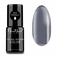 NeoNail - UV GEL POLISH COLOR - GRUNGE - Lakier hybrydowy - 6 ml - 3196-1 - SILVER DREAM - 3196-1 - SILVER DREAM