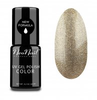NeoNail - UV GEL POLISH COLOR - GRUNGE - Lakier hybrydowy - 6 ml - 3626-1 - GLITTER GOLD - 3626-1 - GLITTER GOLD