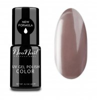 NeoNail - UV GEL POLISH COLOR - GRUNGE - Lakier hybrydowy - 6 ml - 3782-1 - ROSY BROWN - 3782-1 - ROSY BROWN