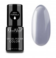 NeoNail - UV GEL POLISH COLOR - GRUNGE - Lakier hybrydowy - 6 ml - 3783-1 - SILVER GREY - 3783-1 - SILVER GREY