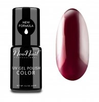 NeoNail - UV GEL POLISH COLOR - LADY IN RED - Lakier hybrydowy - 2617-1 - WINE RED - 2617-1 - WINE RED