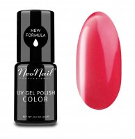 NeoNail - UV GEL POLISH COLOR - LADY IN RED - Lakier hybrydowy - 6 ml - 3791-1 - CRAZY RED - 3791-1 - CRAZY RED